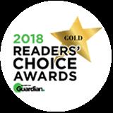 2018 Gold Readers' Choice Award
