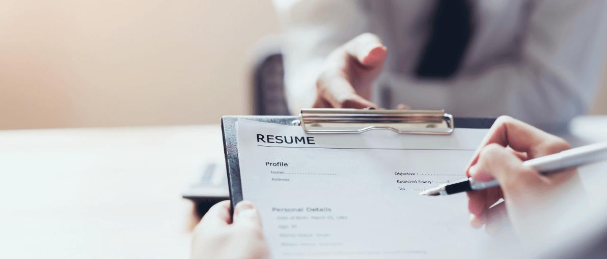 Resume builder event