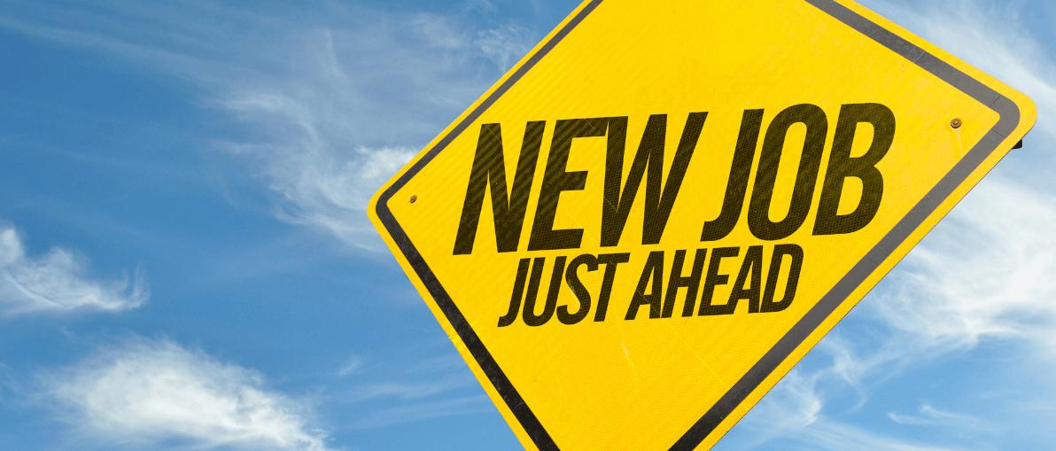 New jobs banner