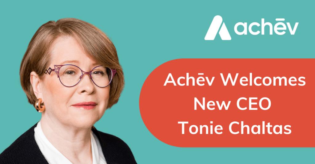 Achēv Names Tonie Chaltas as New CEO