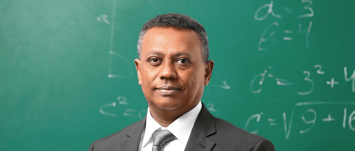 South Asian Professor